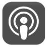 apple podcasts ikona
